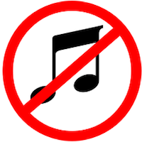 When There is No Music