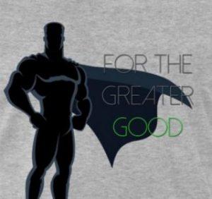 superhero cape greater good