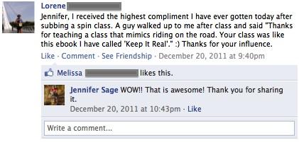 Biggest compliment KIR