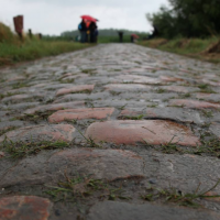 How to Cue Riding on Cobblestones: Visualization at its Finest!