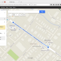 Using Google Maps to Design an Indoor Ride