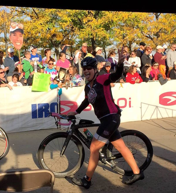 Pam B at Ironman KY