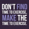 Make the Time to Exercise!